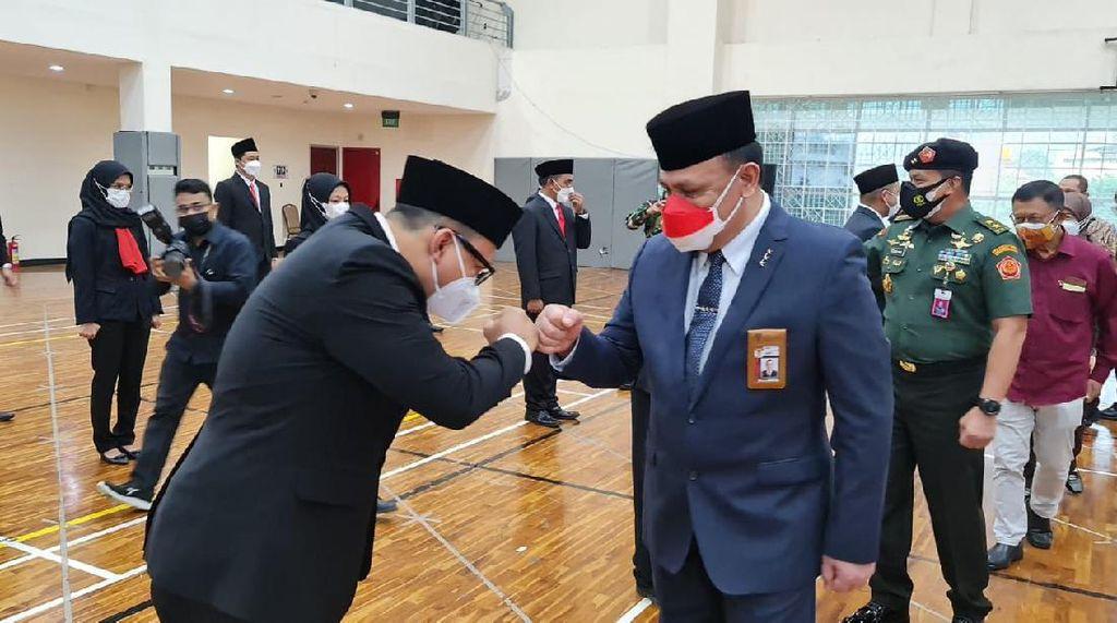 Momen 18 Pegawai KPK Dilantik ASN Usai Lulus Diklat Bela Negara