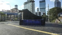 Ada Tugu Sepatu di Sudirman, Wagub DKI: Supaya Jakarta Menarik