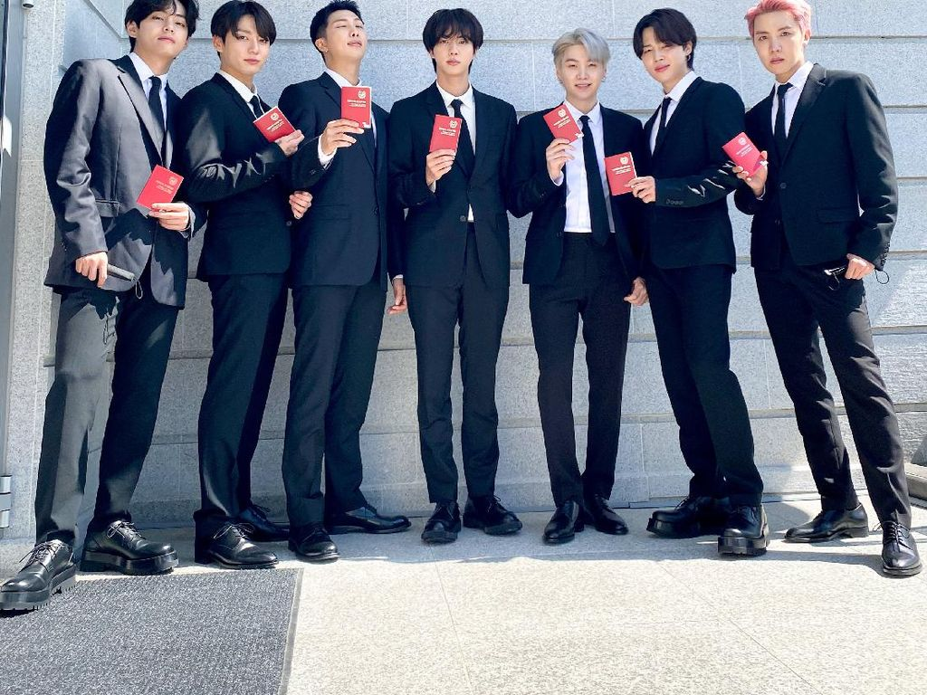 Penampilan Permission to Dance BTS di Panggung PBB