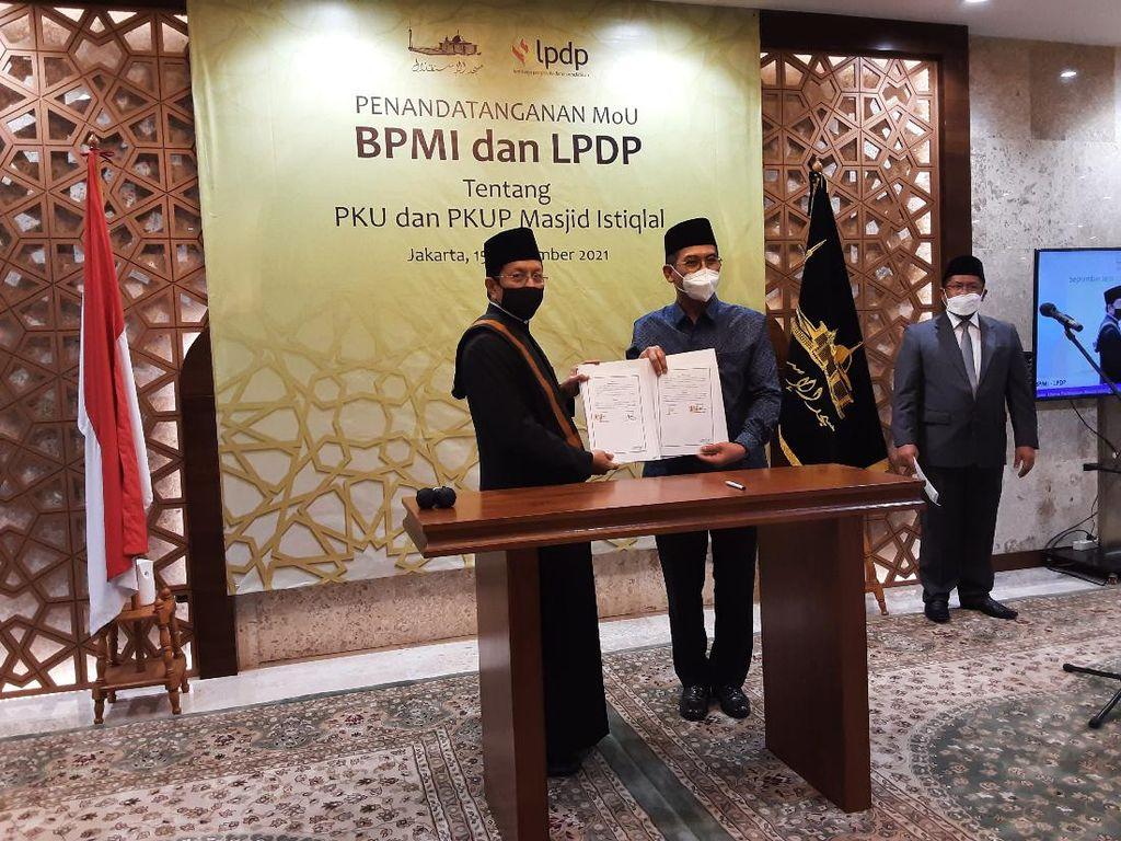 Beasiswa LPDP untuk Kader Ulama dan Kader Ulama Perempuan Masjid Istiqlal