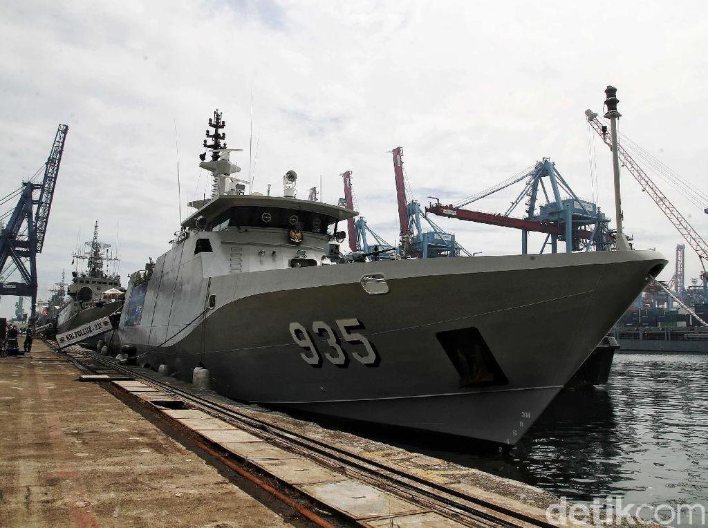 Perkenalkan KRI Pollux-935, Kapal Canggih Terbaru TNI AL