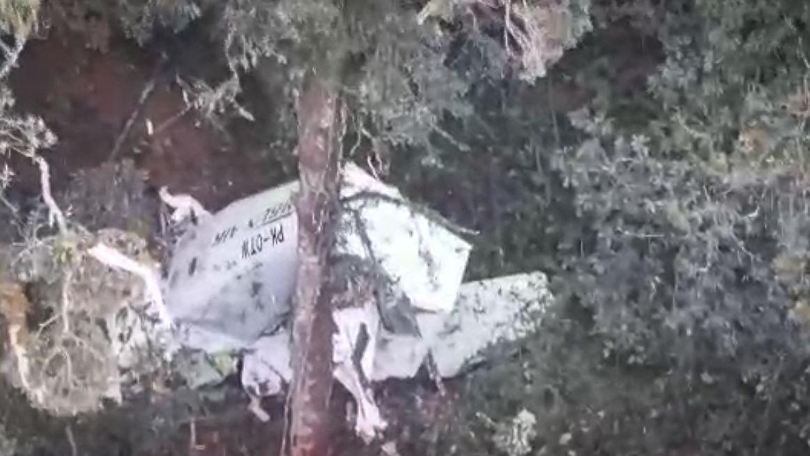 Pesawat hilang kontak Rimbun Air ditemukan.