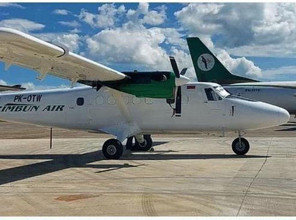 Pesawat Rimbun Air Hilang Kontak di Papua Bawa 3 Kru-Kargo Bahan Bangunan