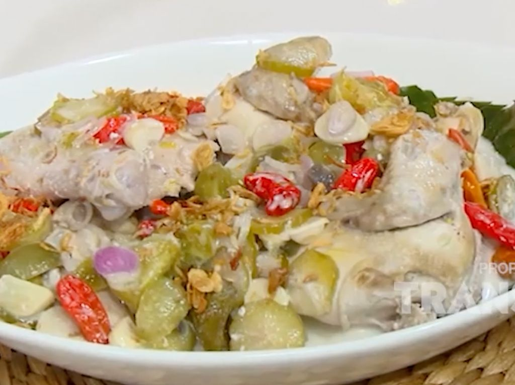 Masak Masak: Resep Garang Asam Ayam Tanpa Daun Pisang yang Praktis