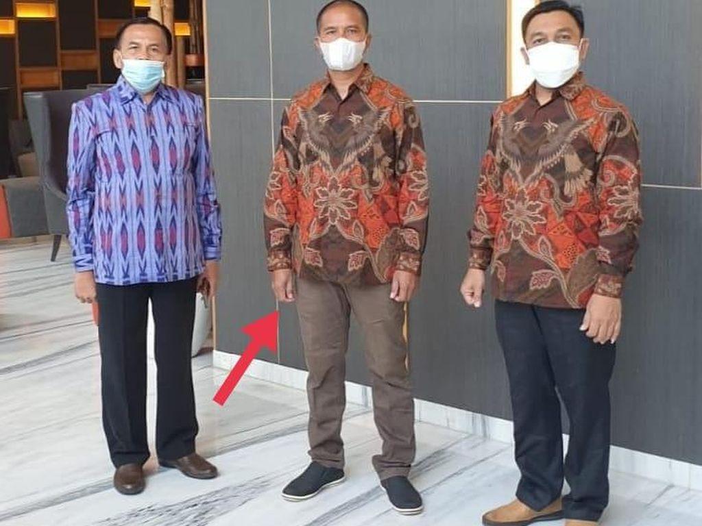 Suroto, Peternak yang Diamankan Saat Jokowi ke Blitar Hari Ini Tiba di Jakarta