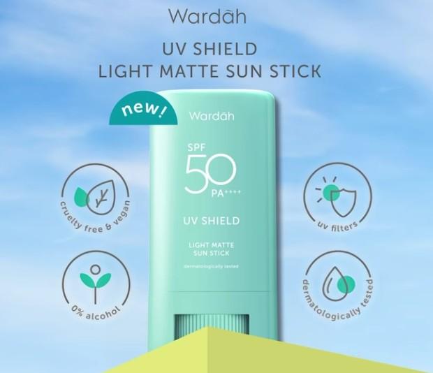 Wardah UV Shield Light Matte Sun Stick