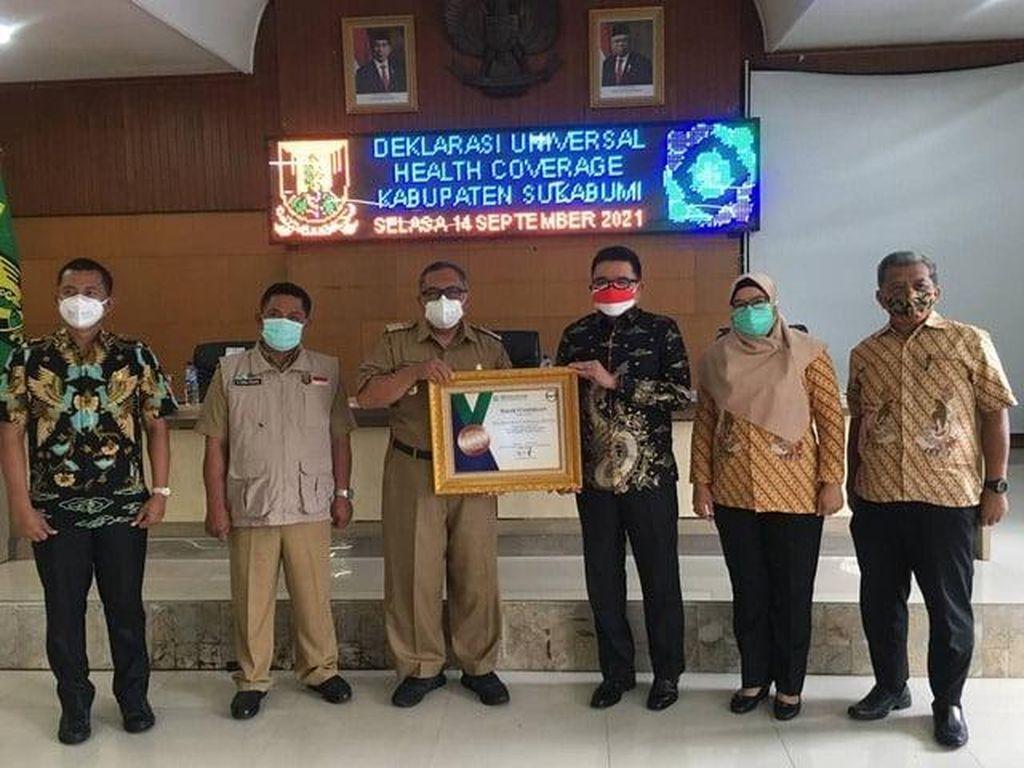 Tercatat 2 Juta Lebih Warga Kabupaten Sukabumi Jadi Peserta JKN-KIS