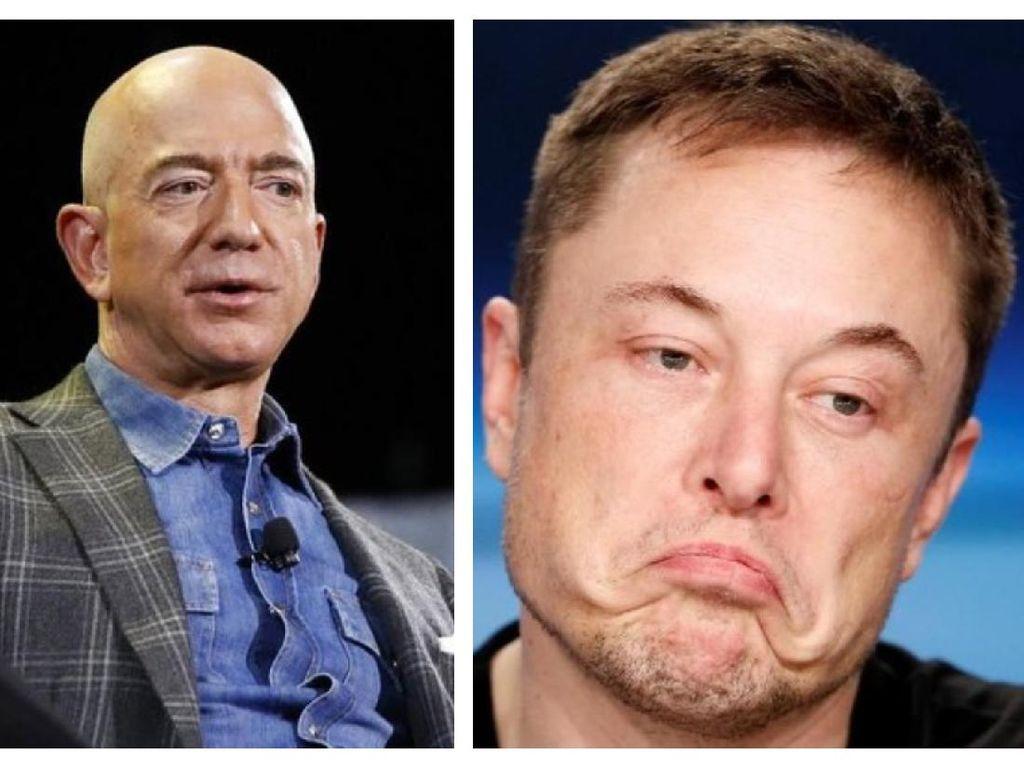 Perlombaan Antariksa Elon Musk dan Jeff Bezos, Siapa Pemenangnya?
