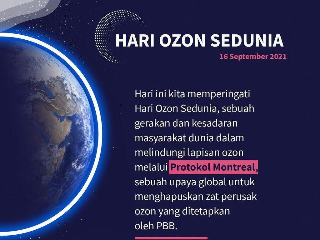 Hari Ozon Internasional 2021: Tema dan Pesan Penting Tahun Ini