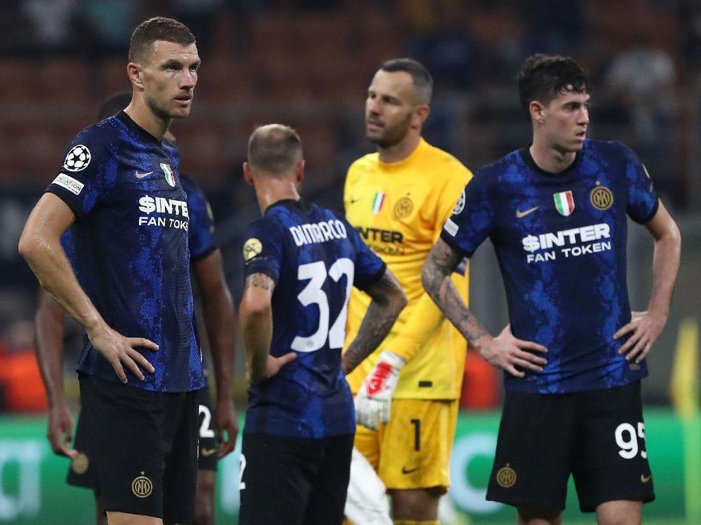 Dzeko: Inter Tak Pantas Kalah dari Madrid