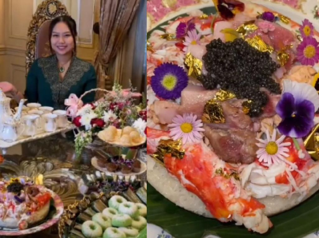 Sisca Kohl Bikin Jajanan Pasar Rp 16 Juta, Ada Lemper King Crab dan Kaviar