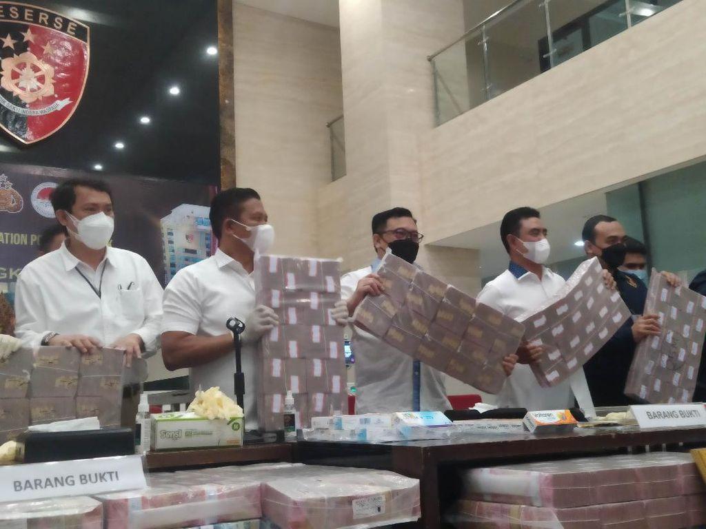 Bareskrim Ungkap Pelaku TPPU yang Raup Rp 531 M dari Jualan Obat Ilegal