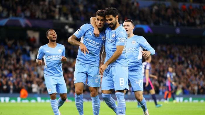 Man City Pesta Gol lalu Bikin Rekor di Liga Champions