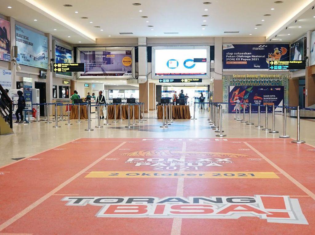 Ramaikan PON XX Papua, AP I Buat Jalur Khusus dan Hias Bandara