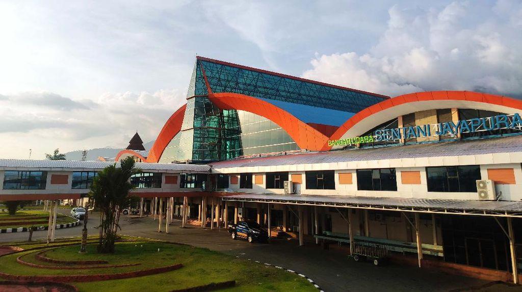 Bikin Pangling! Bandara Sentani Jadi Cantik Banget