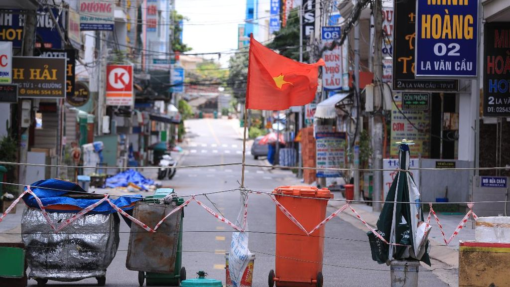 Sunyi Sepi Vietnam Saat Lockdown Bak Kota Mati