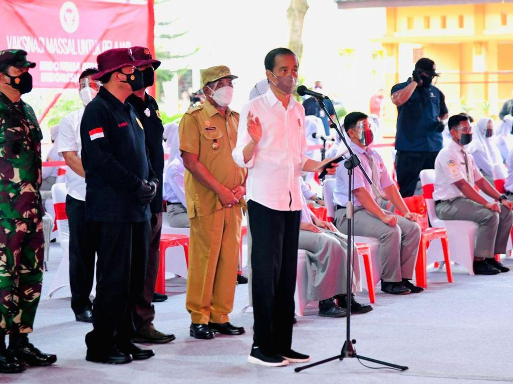 Jokowi Persilakan Siswa Gelar Festival: Kalau Pandemi Menurun