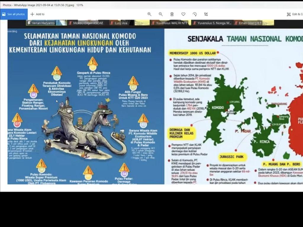 Staf KLHK Ngamuk-ngamuk di Webinar, MU Kalah di Tempat yang Indah
