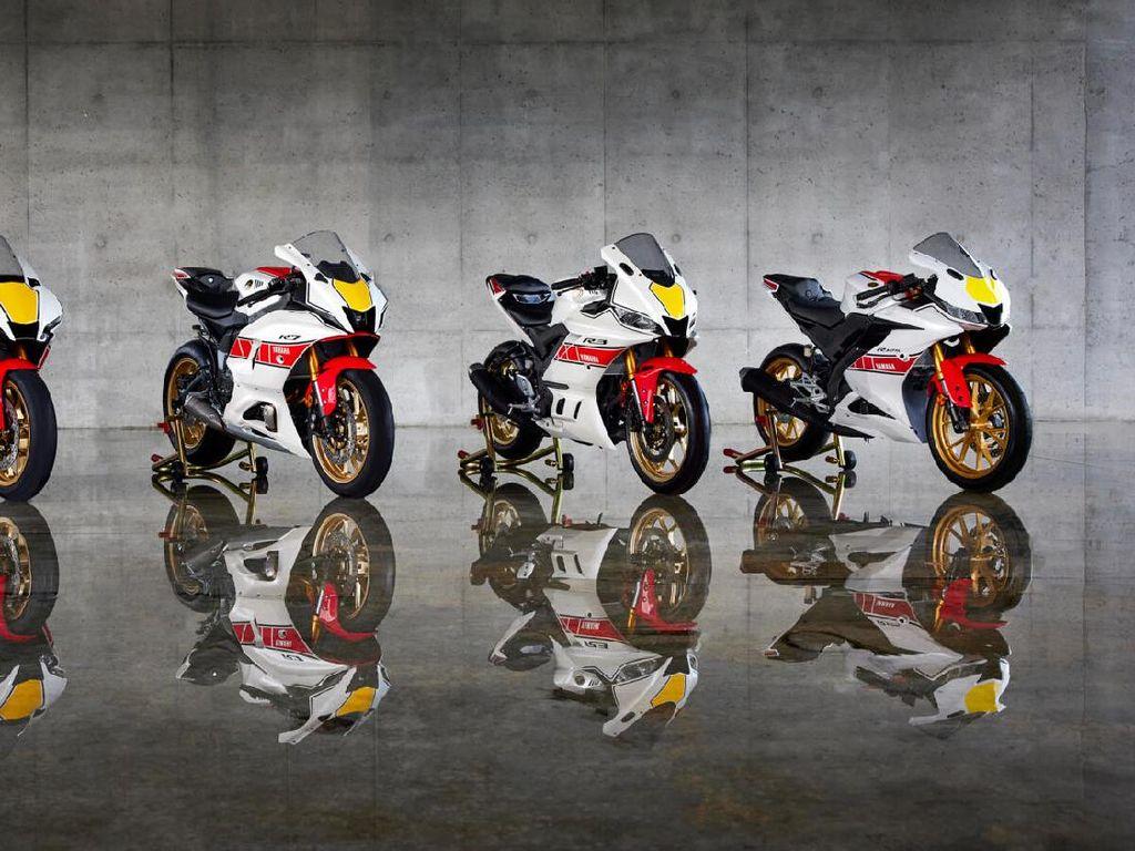 Keren! Yamaha Rilis R-Series Model 2022 dengan Livery World GP 60th Anniversary