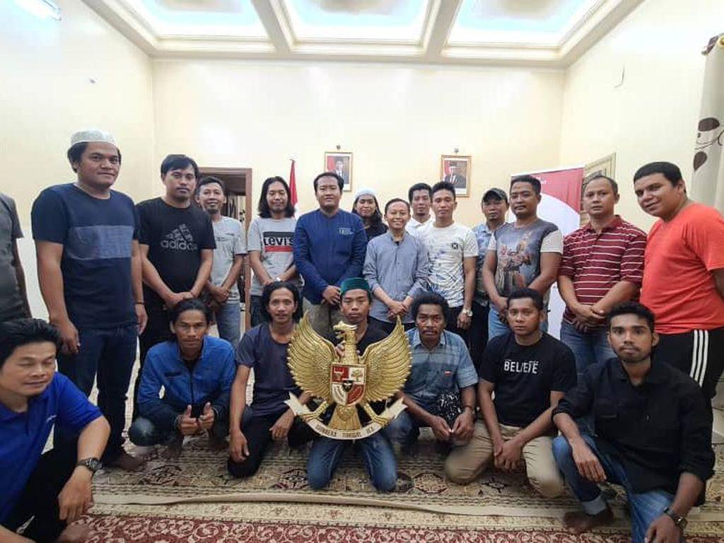 18 ABK WNI yang Dibebaskan Pengadilan Yaman Pulang ke Indonesia