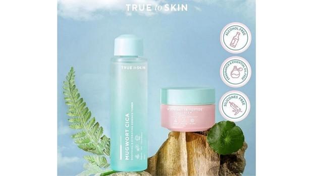 2 produk terbaru dari brand lokal True To Skin   Foto : instagram.com/truetoskinofficial