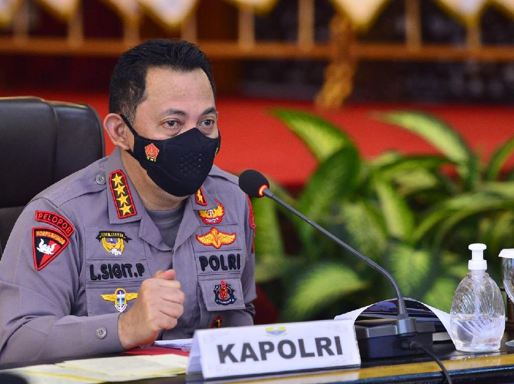 Arahan Lengkap Kapolri Imbas Aksi Polisi Banting Mahasiswa-Aniaya Pemotor