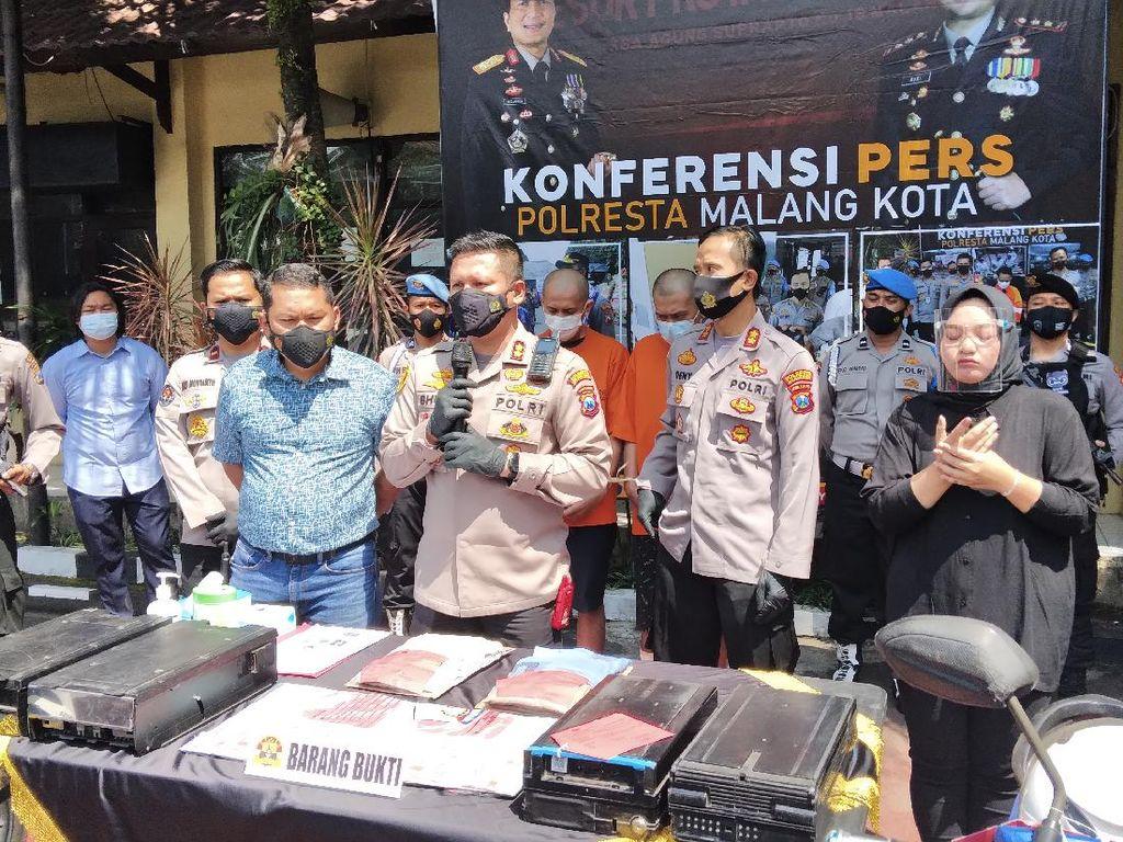 Dua Petugas Pengisi Uang di Malang Bobol ATM yang Diisinya, Rp 498 Juta Raib