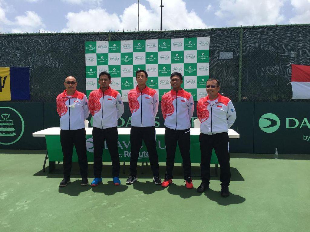 Davis Cup 2021: Gunawan Bersemangat Lawan Petenis Andalan Barbados