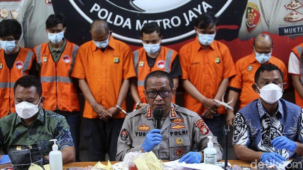 Polisi Ringkus 10 Pelaku Jaringan Narkoba