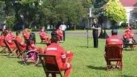 Momen Jokowi Beri Bonus untuk Atlet Paralimpiade Tokyo