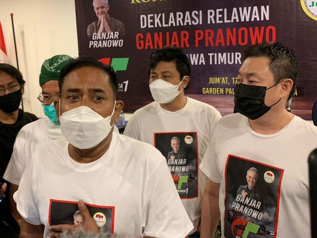 Klaim GP Mania: Seluruh Relawan Jokowi di Indonesia Dukung Ganjar Capres