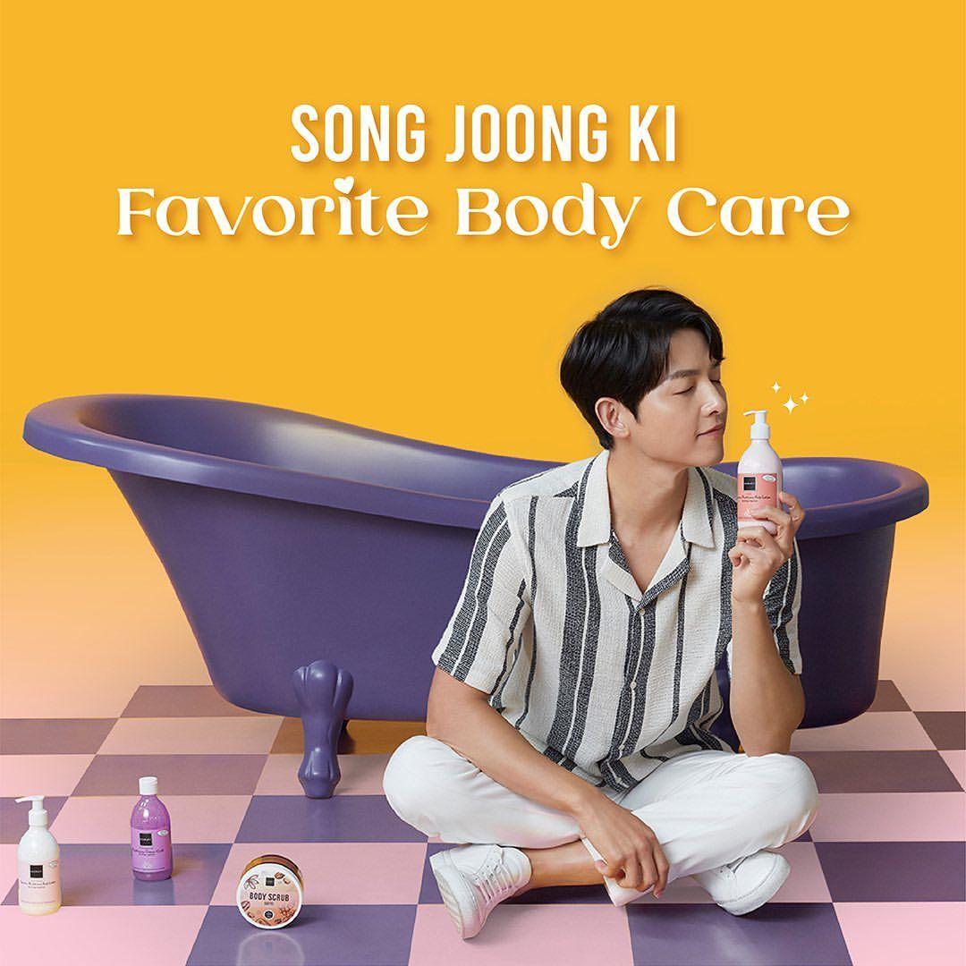 Song Joong Ki X Scarlett Whitening