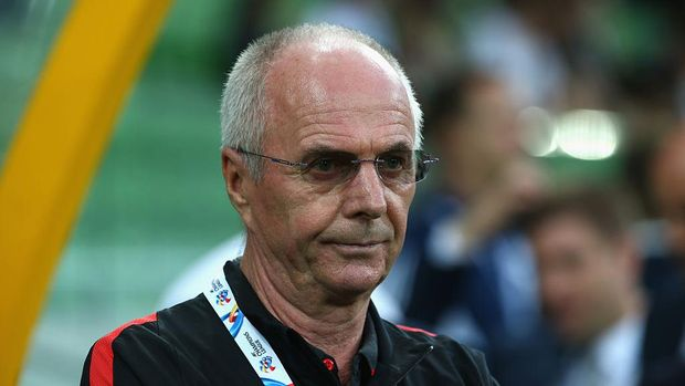 MELBOURNE, AUSTRALIA - FEBRUARY 24:  Shanghai Sipg coach Sven-Göran Eriksson looks on prior to the AFC Asian Champions League match between Melbourne Victory and Shanghai Sipg at AAMI Park on February 24, 2016 in Melbourne, Australia.  (Photo by Robert Cianflone/Getty Images)