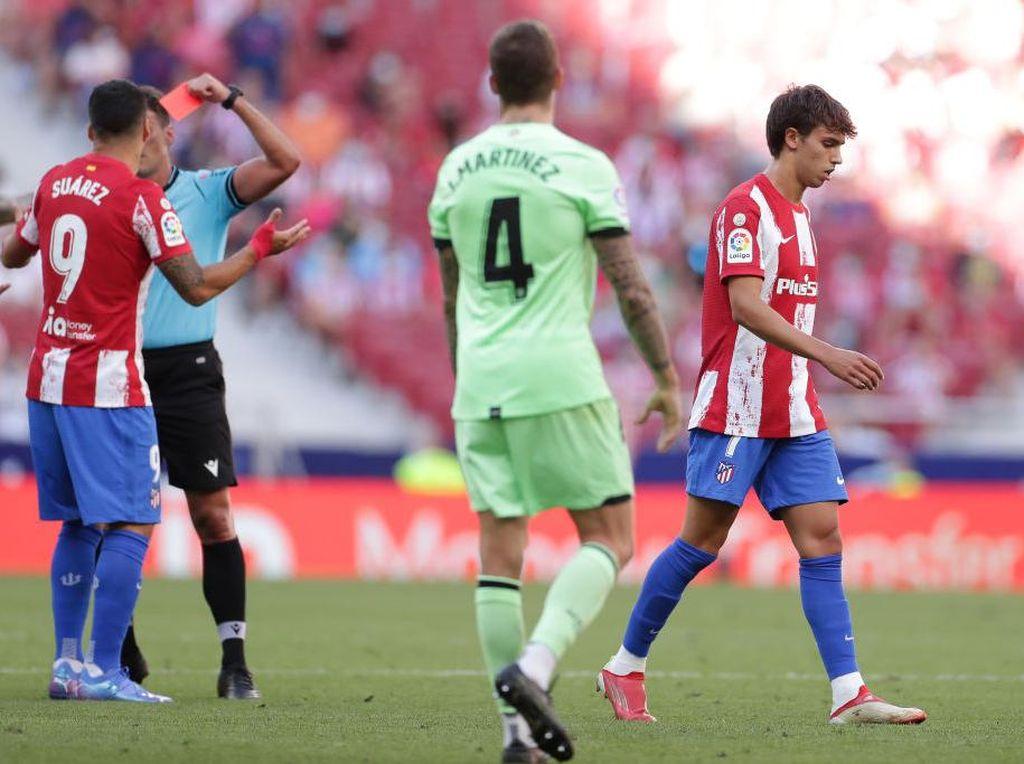 Atletico Vs Bilbao: Felix Kartu Merah, Los Colchoneros Imbang 0-0