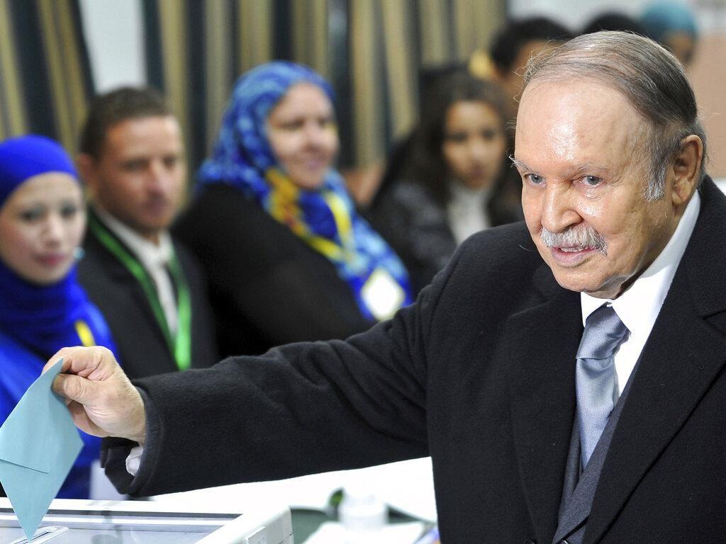 Abdelaziz Bouteflika, Presiden Aljazair 1999-2019 Wafat
