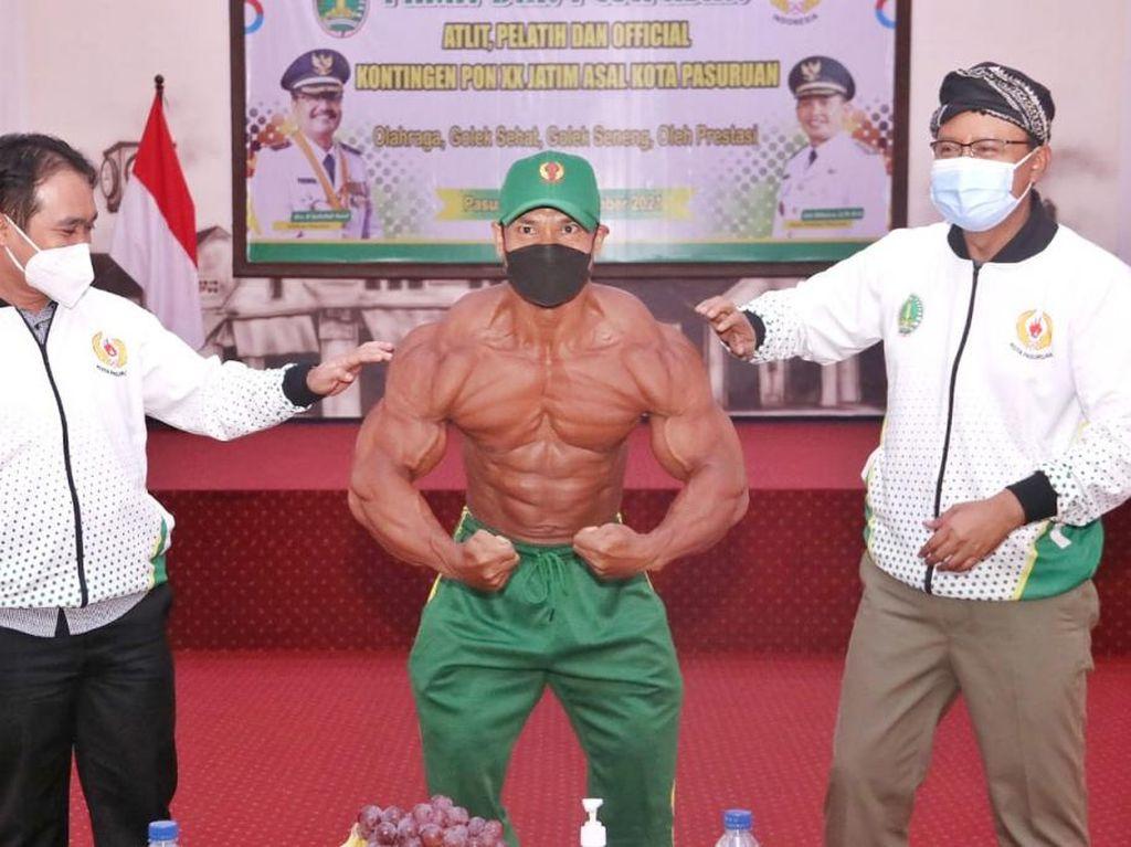 Bangganya Gus Ipul Lepas 5 Atlet asal Kota Pasuruan Ikut PON XX di Papua