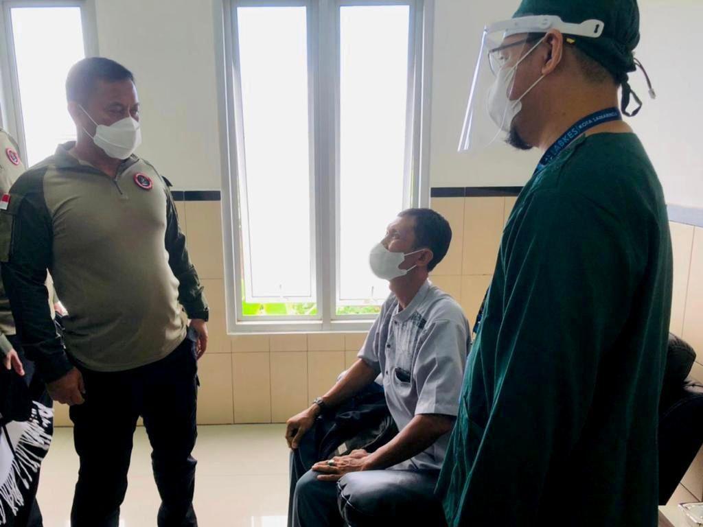 BNPT Gelar Vaksinasi COVID-19 ke Mitra Deradikalisasi di Samarinda