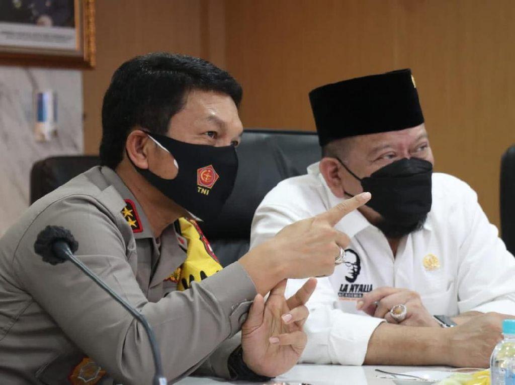 Ketua DPD Apresiasi Polda Jatim Asuh 7.044 Yatim-Piatu Korban COVID