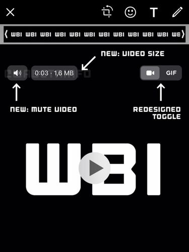 Fitur mute video di WhatsApp iOS