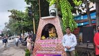 Kesal Ditilang karena Tidak Melakukan Kesalahan, Motor Pria Ini Dijadikan Monumen