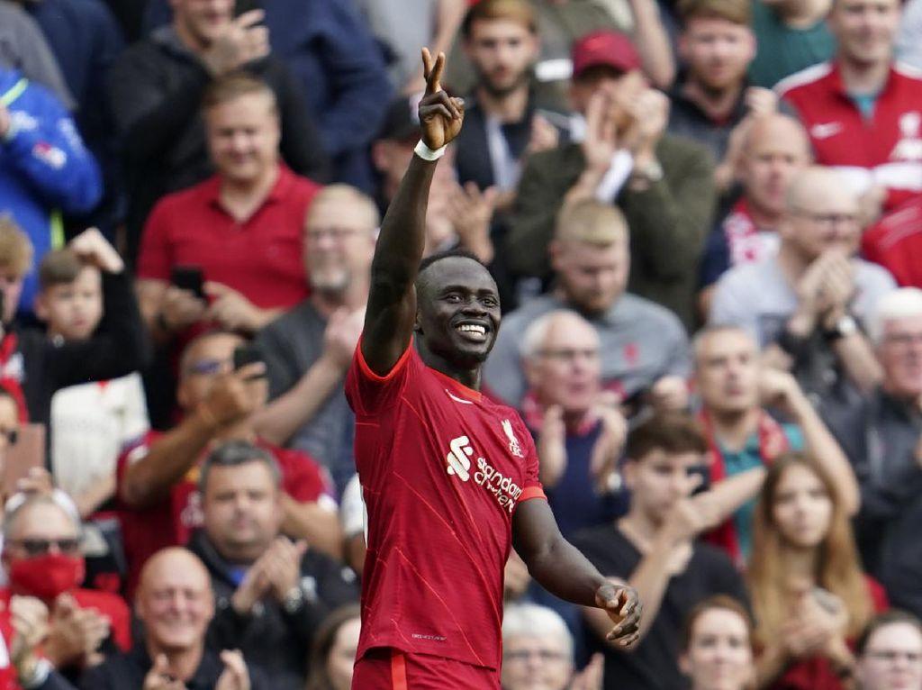 Watford Vs Liverpool: Sadio Mane Buru Gol ke-100