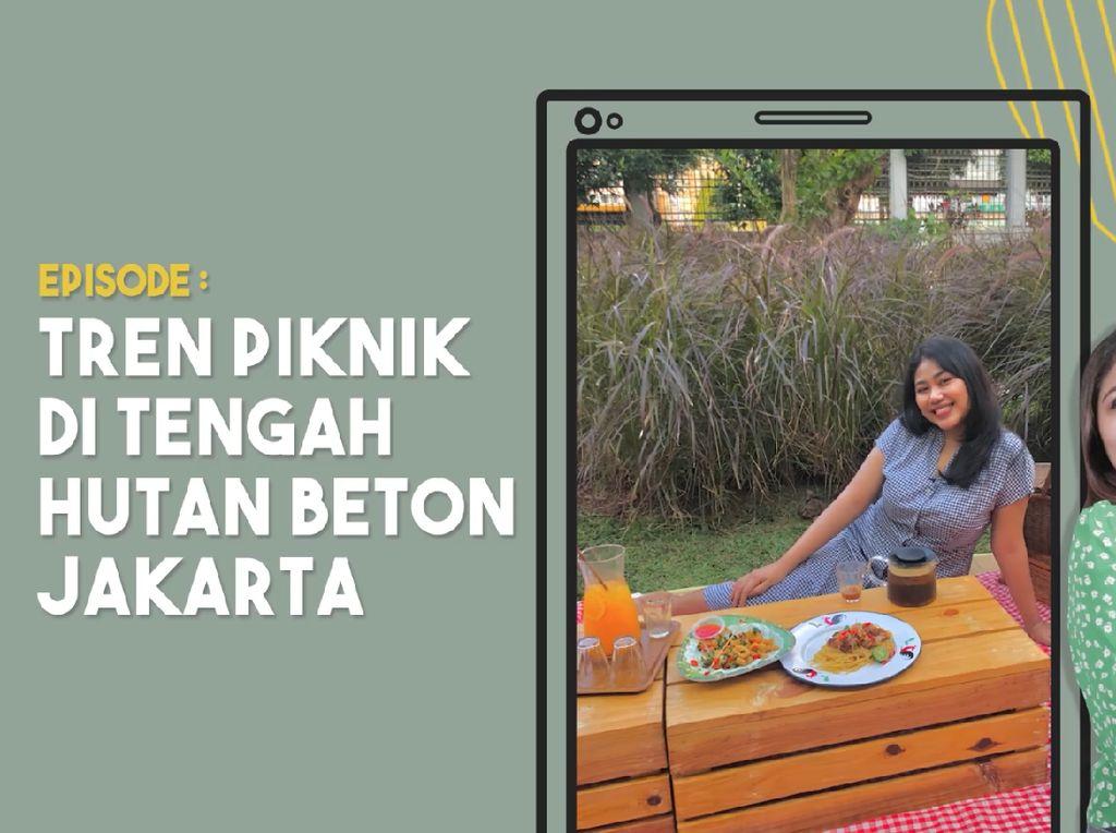 Piknik Dikelilingi Hutan Beton Jakarta Jadi Viral