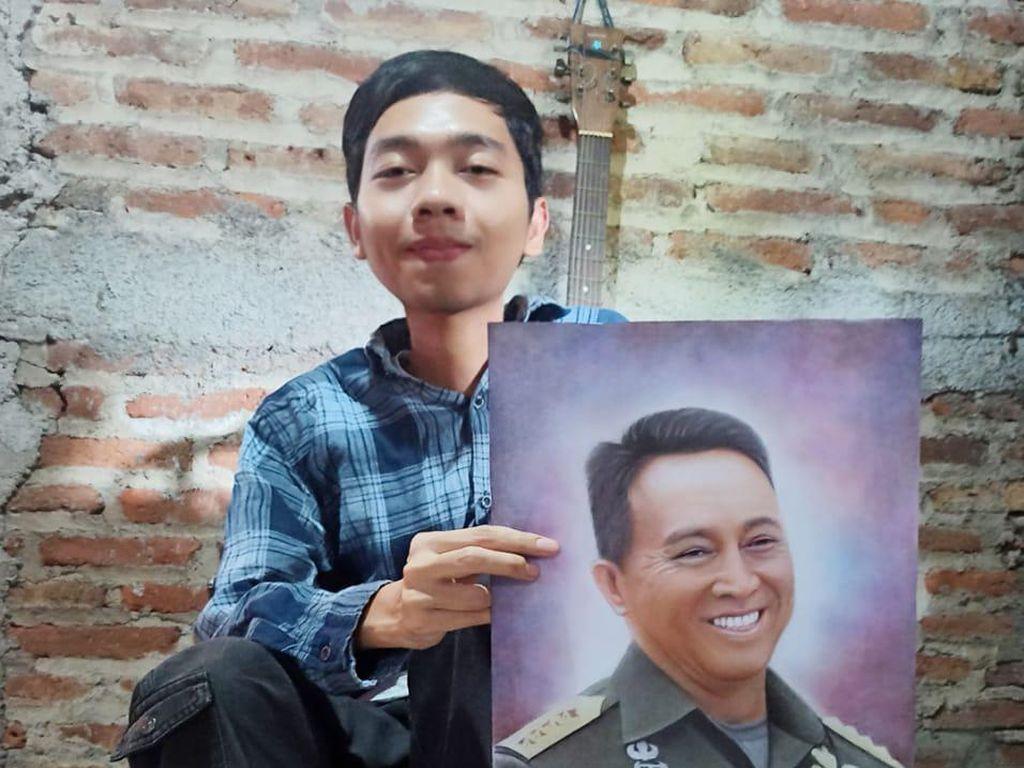 Inspiratif! Kakak Beradik Difabel di Semarang Ini Mandiri Berkat Lukis