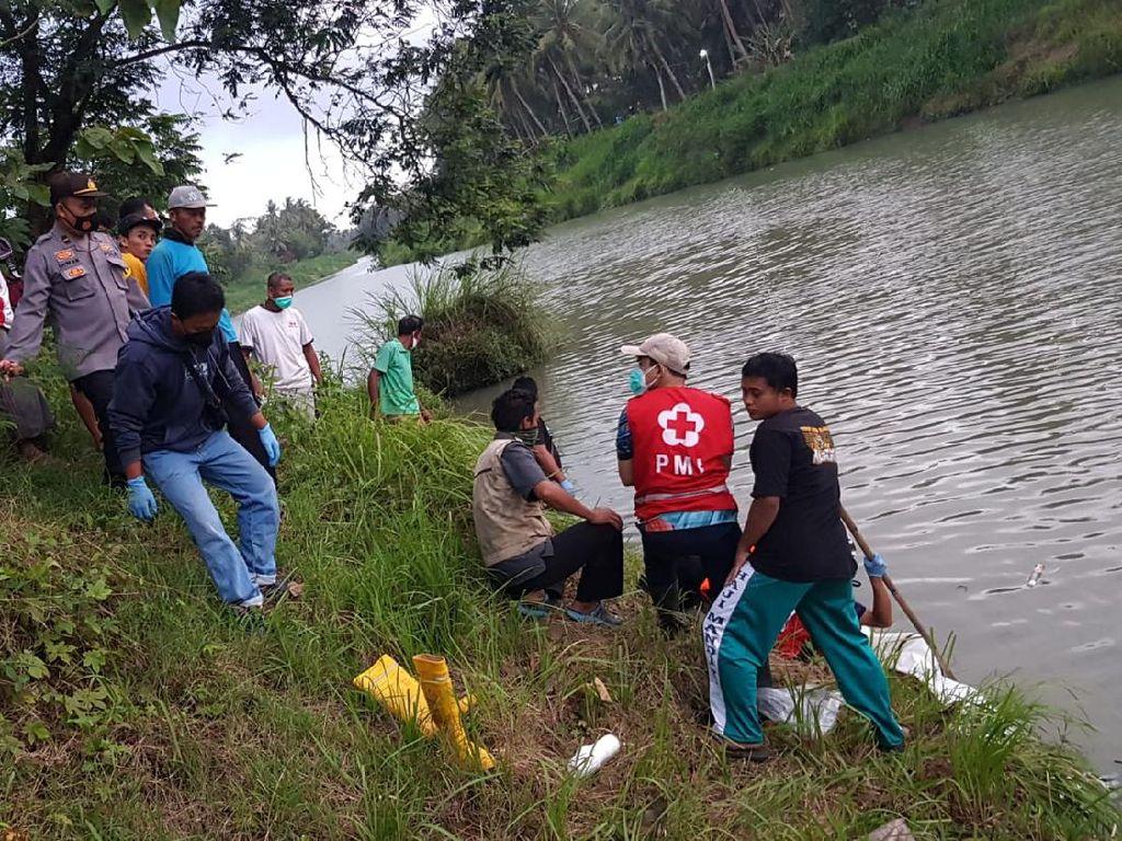 Mayat Pria Misterius Ditemukan Terapung di Sungai Kulon Progo