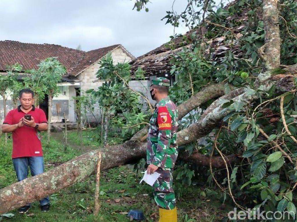 Puting Beliung Terjang 35 Rumah di Banyuwangi