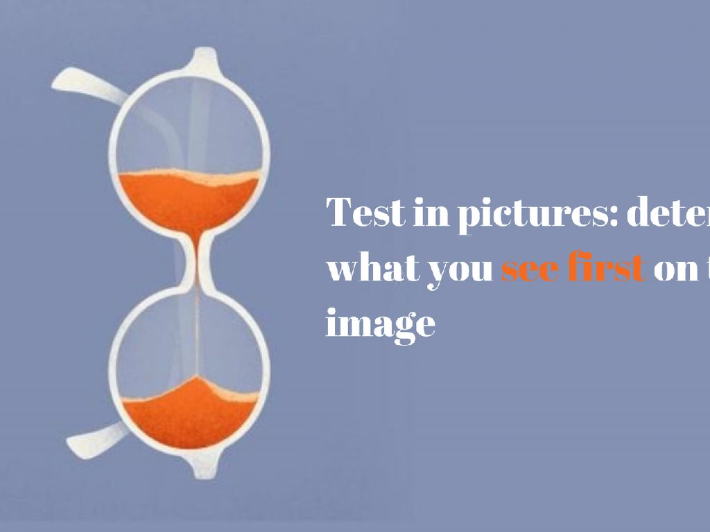 Tes Kepribadian: Gambar Kaca Mata atau Jam Pasir yang Jadi Fokus Utamamu?