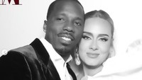 7 Foto Adele dan Pacar Barunya Rich Paul yang Berharta Rp 655 M