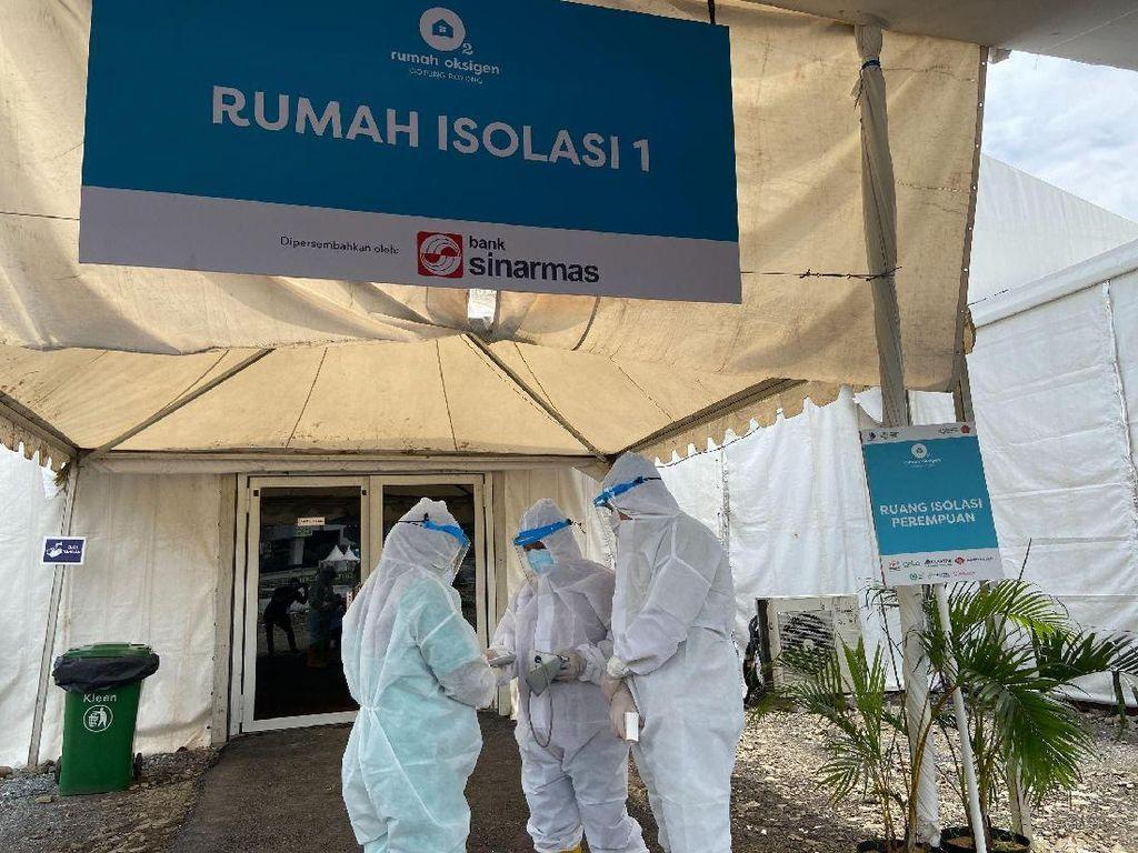 Bank Sinarmas Sumbang 125 Tempat Tidur di Rumah Oksigen Gotong Royong