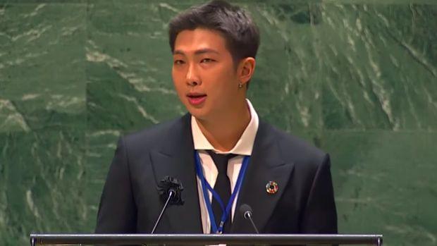 BTS di Sidang Majelis Umum PBB 2021