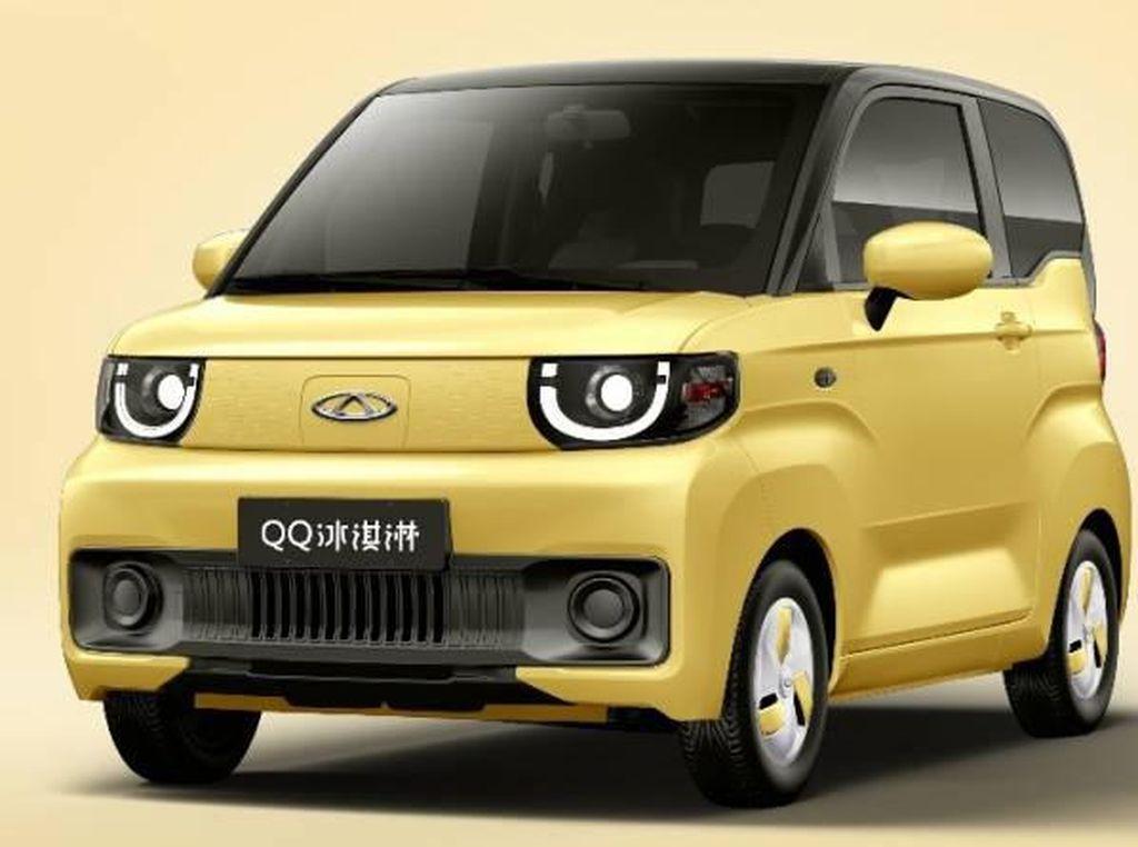 Mobil Listrik Murah Meriah Chery QQ Ice Cream, Harga Cuma Rp 60 Jutaan